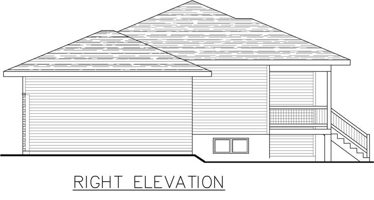 Contemporary House Plan 50339 with 2 Beds, 2 Baths, 1 Car Garage Picture 1