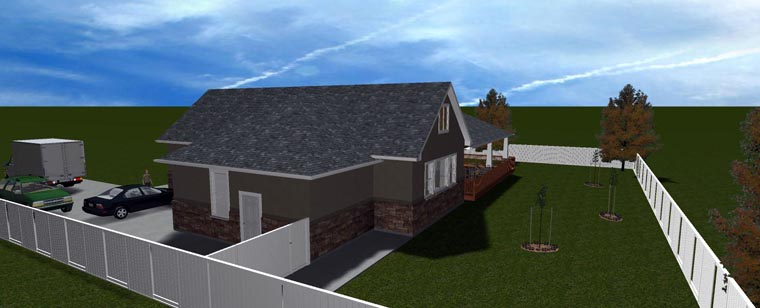 House Plan 50438 with 5 Beds, 3 Baths, 3 Car Garage Picture 13