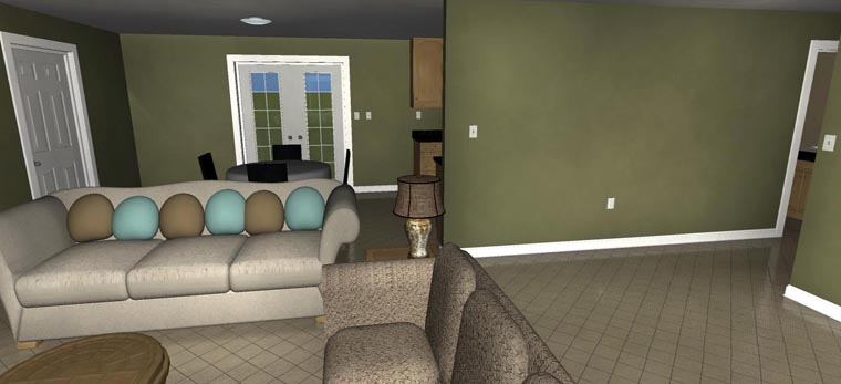 House Plan 50439 with 2 Beds, 1 Baths, 1 Car Garage Picture 20