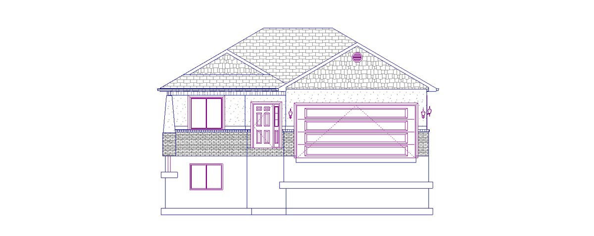 House Plan 50442 with 5 Beds, 3 Baths, 2 Car Garage Picture 3