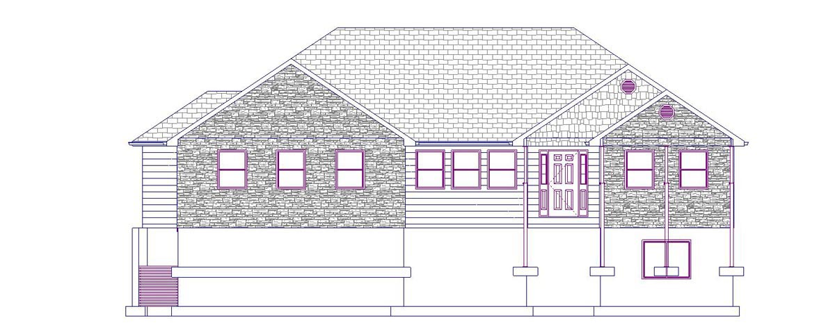 House Plan 50461 with 6 Beds, 4 Baths, 2 Car Garage Picture 3