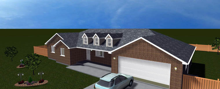 House Plan 50464 with 5 Beds, 4 Baths, 2 Car Garage Picture 5