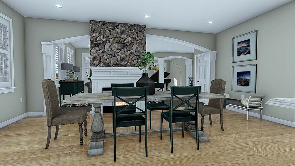 Craftsman House Plan 50526 with 7 Beds, 5 Baths, 3 Car Garage Picture 10