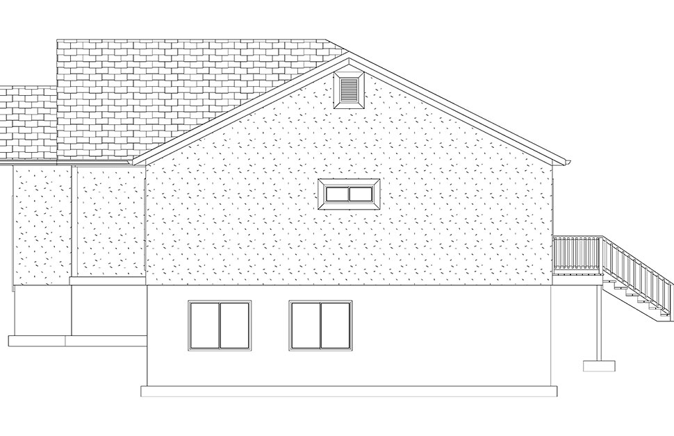 Ranch, Traditional House Plan 50534 with 5 Beds, 3 Baths, 2 Car Garage Picture 20
