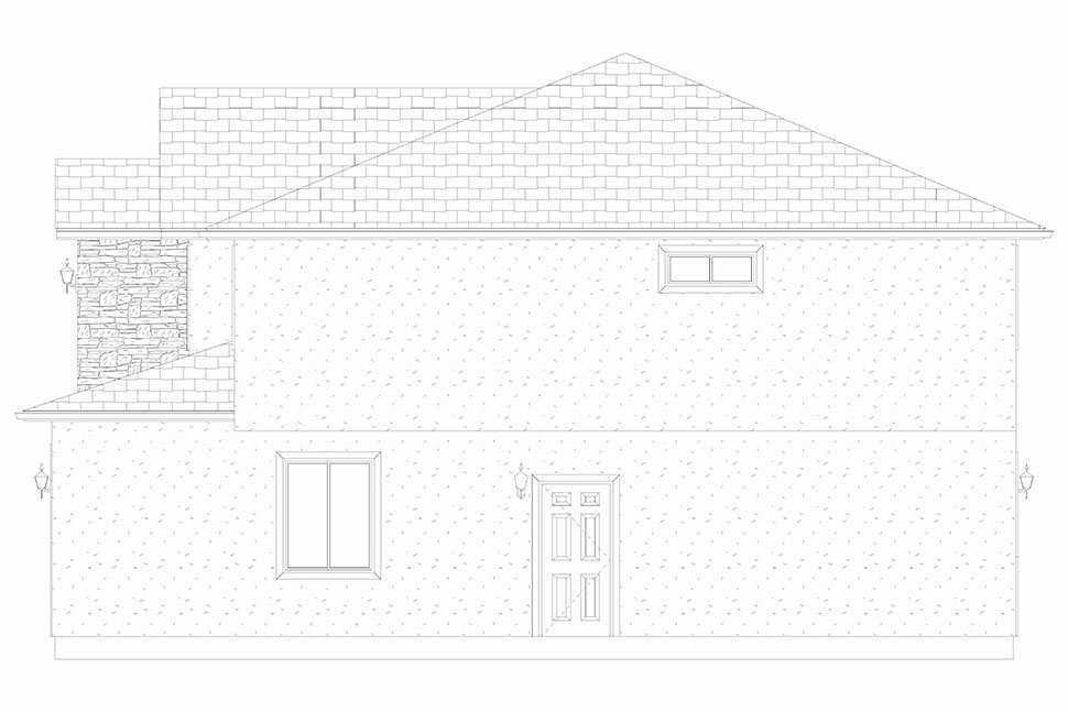 Traditional House Plan 50535 with 4 Beds, 2 Baths, 2 Car Garage Picture 26