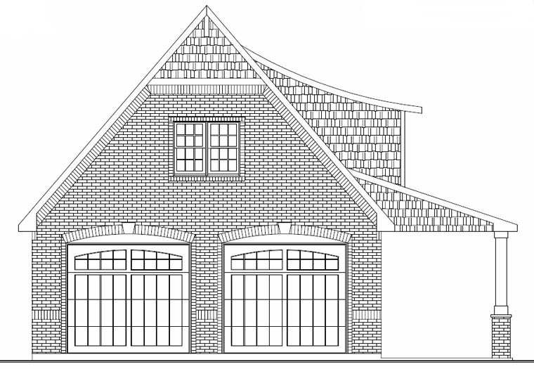 2 Car Garage Plan 50607 Picture 1