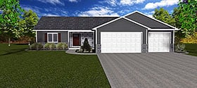 Plan Number 50914 - 1518 Square Feet