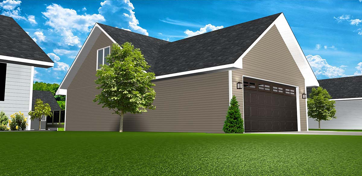 Country, One-Story, Ranch, Traditional House Plan 50916 with 3 Beds, 3 Baths, 2 Car Garage Picture 2