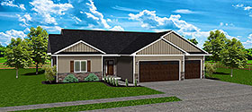 Plan Number 50917 - 1818 Square Feet
