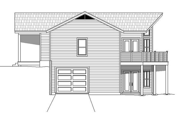 Contemporary, Country House Plan 51459 with 3 Beds, 4 Baths, 1 Car Garage Picture 2