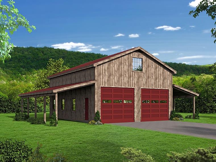 Garage Plan 51507