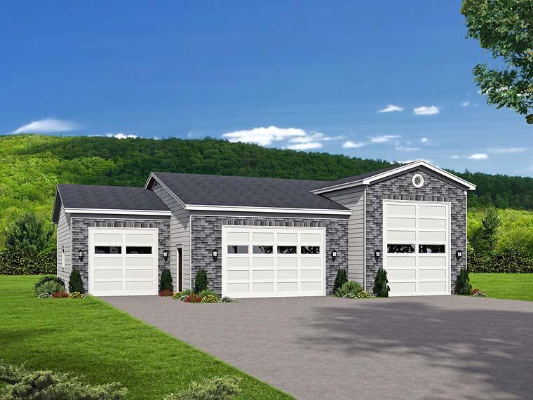 Garage Plan 51526