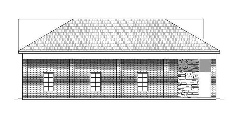 6 Car Garage Plan 51541, RV Storage Picture 1