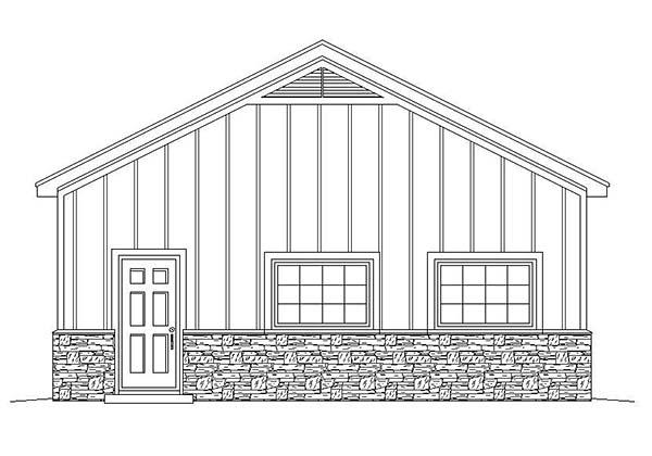 3 Car Garage Plan 51579 Picture 1