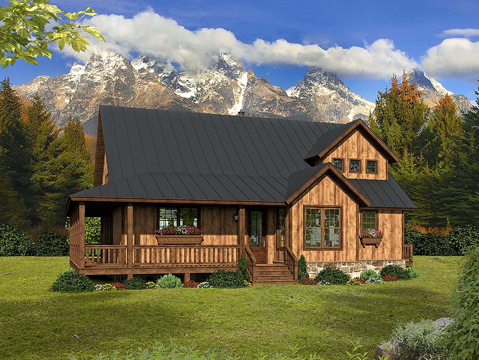 Country, Southern House Plan 51605 with 3 Beds, 3 Baths Front Elevation