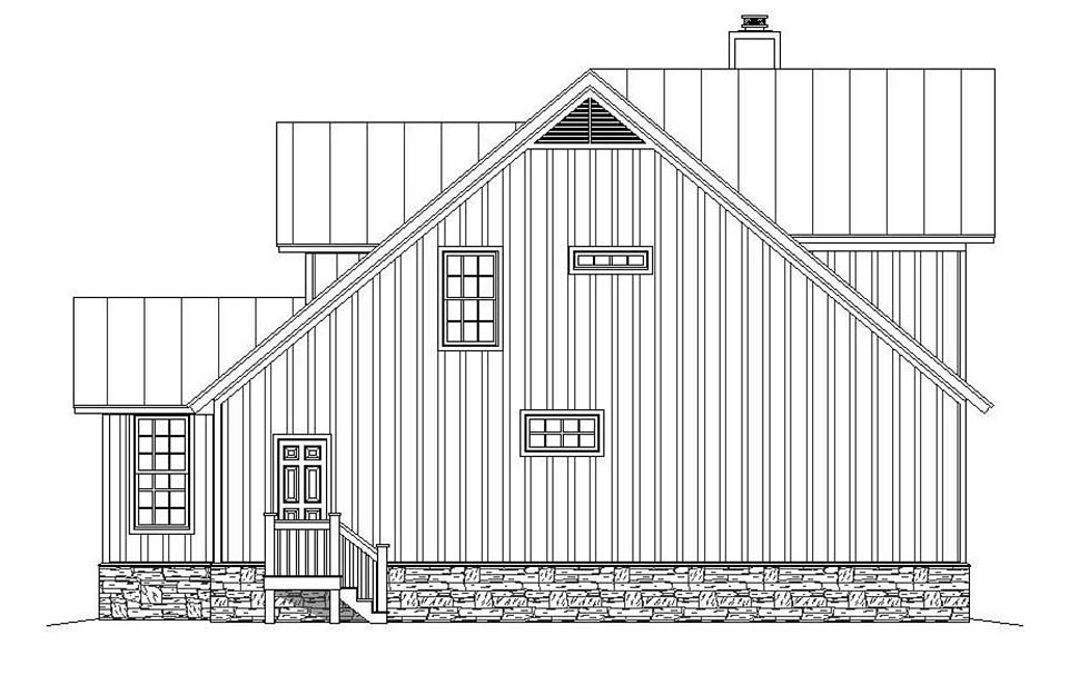 Country, Southern House Plan 51605 with 3 Beds, 3 Baths Picture 1