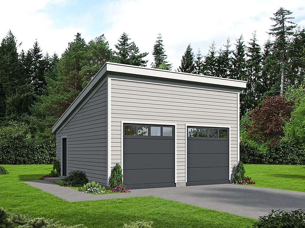 Garage Plan 51608
