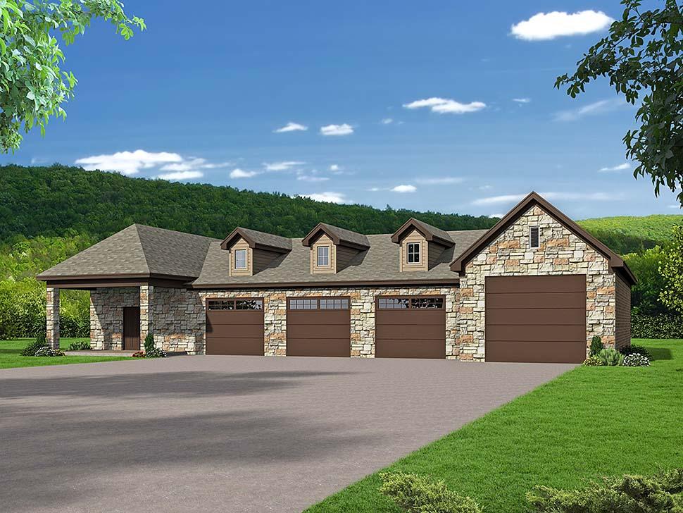 Garage Plan 51651