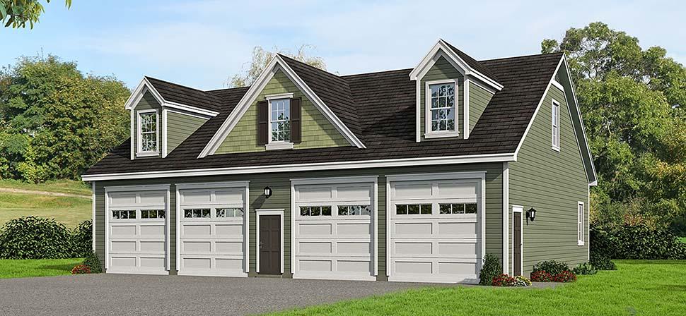 Garage Plan 51686