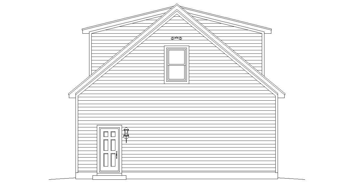 Cape Cod, Coastal, Colonial, Country, Farmhouse, Prairie, Ranch, Saltbox, Traditional 4 Car Garage Plan 51690 Picture 1