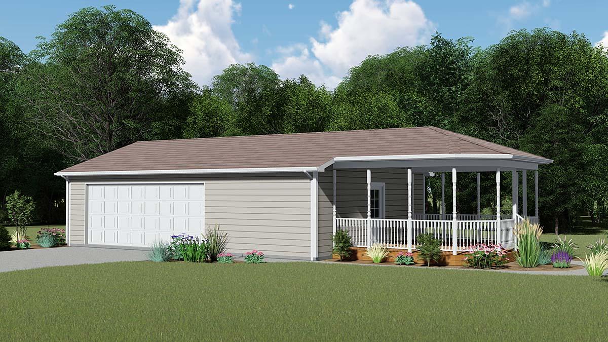 Garage Plan 51838