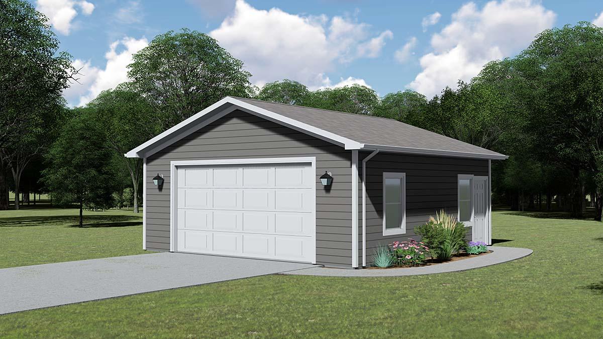 Garage Plan 51841