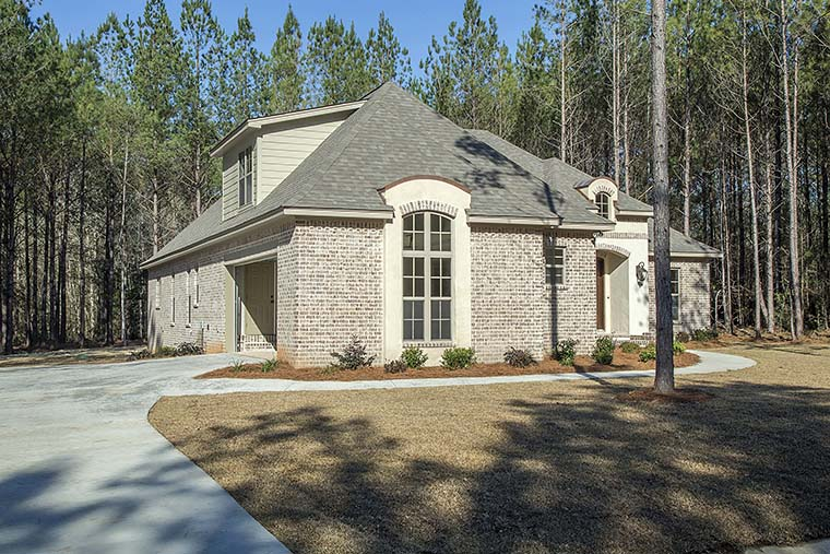 Country, French Country, Southern House Plan 51925 with 4 Beds, 3 Baths, 2 Car Garage Picture 1