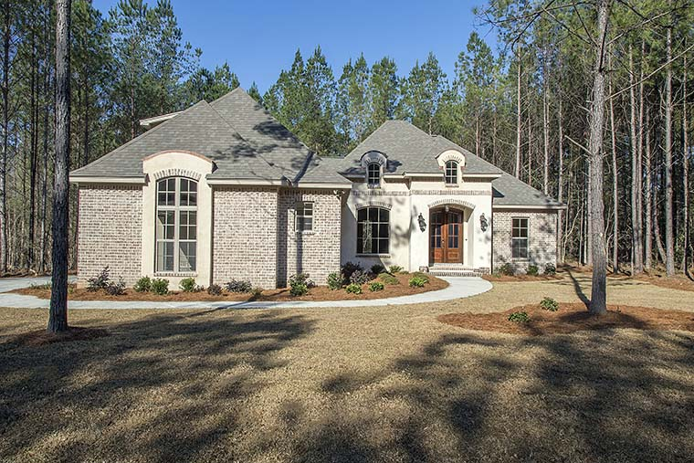Country, French Country, Southern House Plan 51925 with 4 Beds, 3 Baths, 2 Car Garage Picture 3