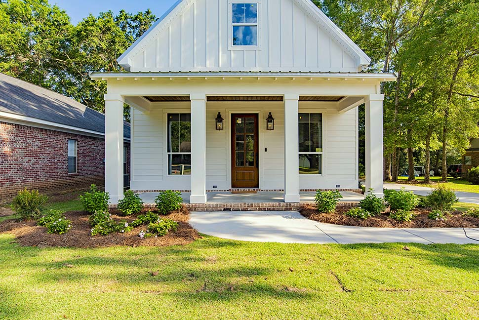 Cottage, Country, Southern, Traditional House Plan 51933 with 4 Beds, 3 Baths, 2 Car Garage Picture 2