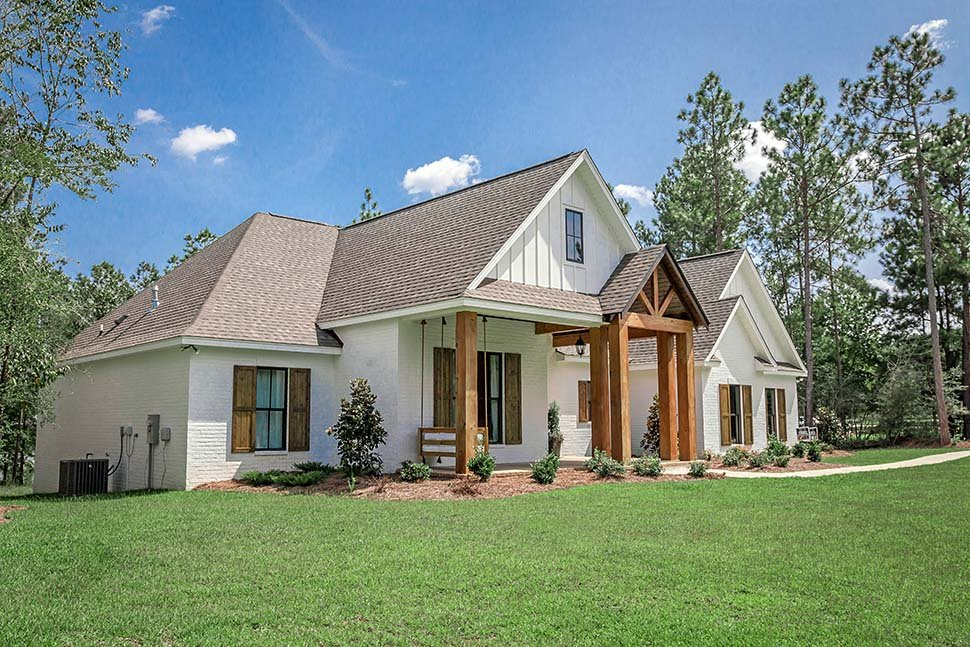 Country, Craftsman, Farmhouse House Plan 51981 with 4 Beds, 3 Baths, 2 Car Garage Picture 21