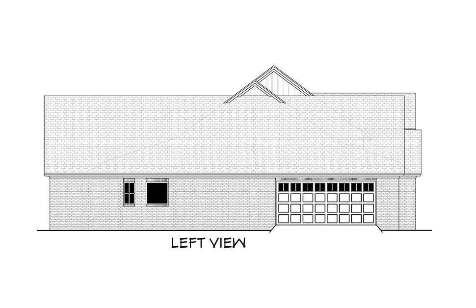 Country, Farmhouse, Traditional House Plan 51995 with 4 Beds, 4 Baths, 2 Car Garage Picture 2