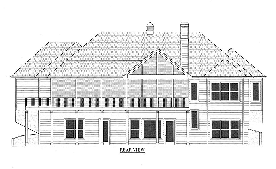 Bungalow, Cottage, Craftsman House Plan 52003 with 3 Beds, 4 Baths, 2 Car Garage Picture 20