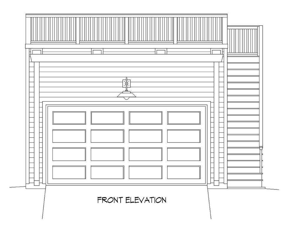 2 Car Garage Plan 52107 Picture 3