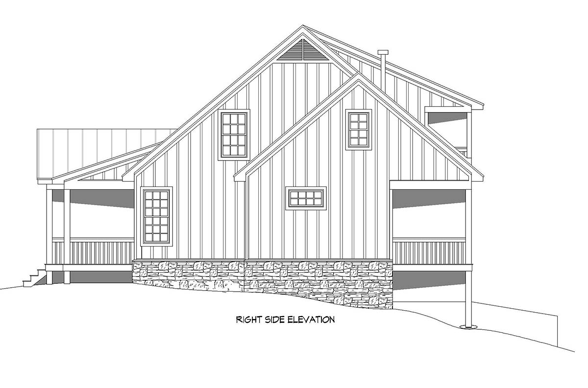 Country, Traditional House Plan 52118 with 3 Beds, 4 Baths Picture 1