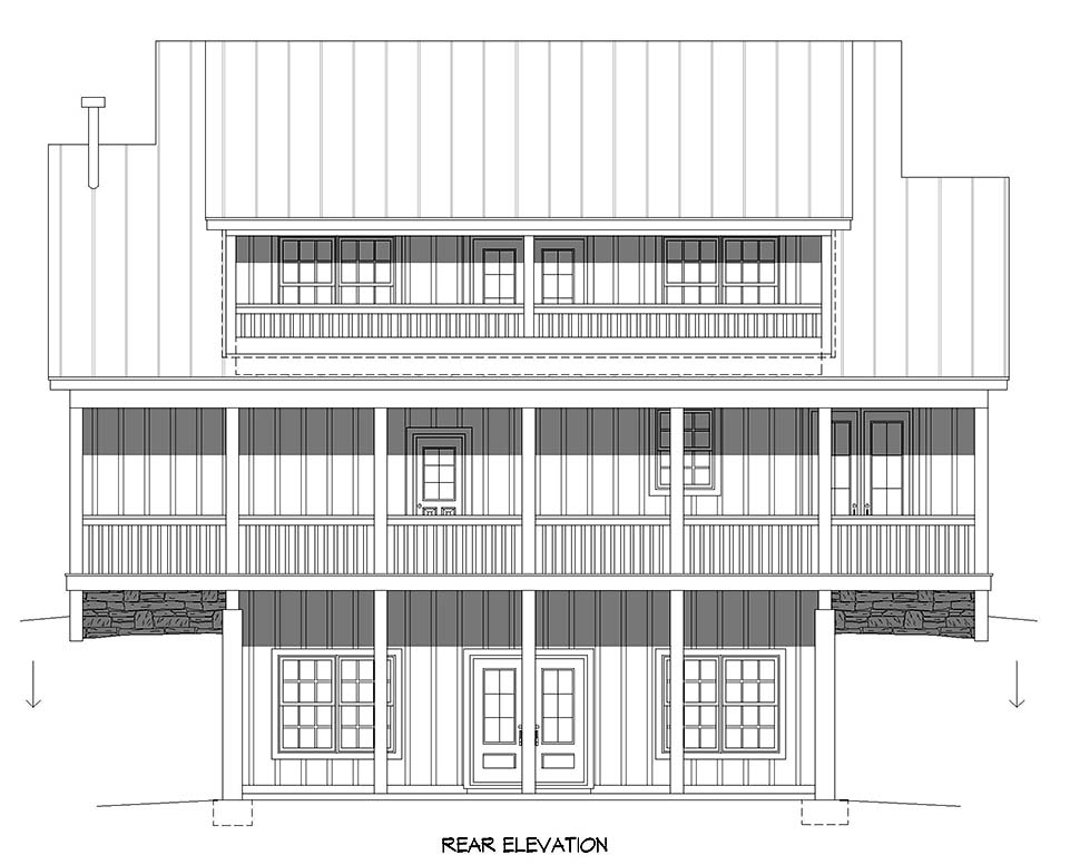 Country, Traditional House Plan 52118 with 3 Beds, 4 Baths Picture 4