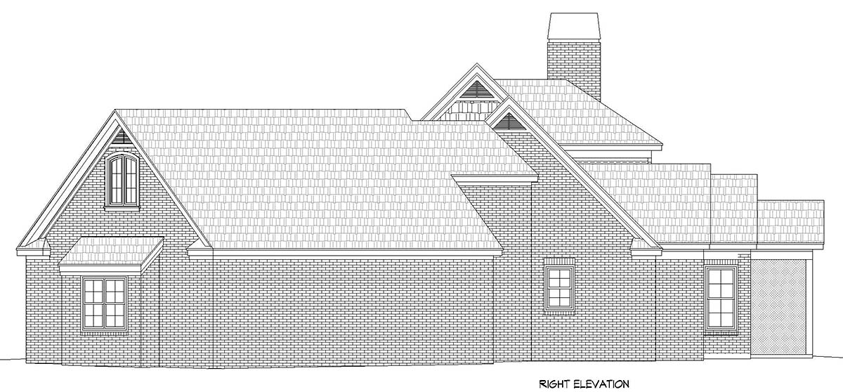 Country, Farmhouse, Traditional House Plan 52128 with 3 Beds, 3 Baths, 3 Car Garage Picture 1