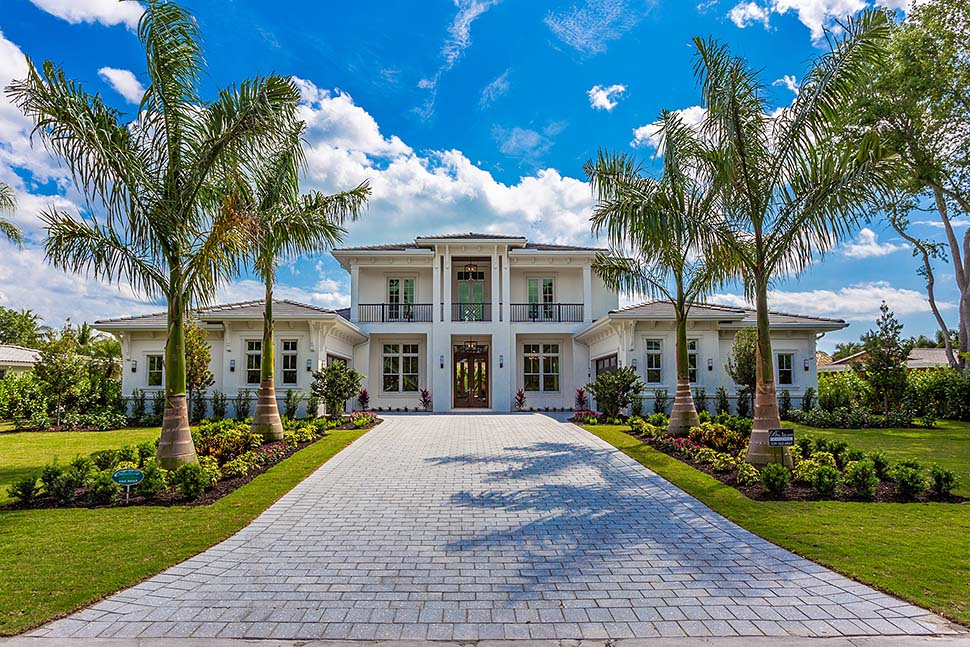 Coastal, Contemporary House Plan 52962 with 4 Beds, 6 Baths, 4 Car Garage Picture 2