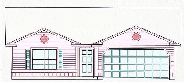 House Plan 53105