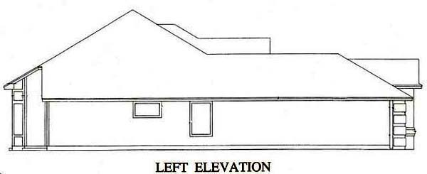 House Plan 53242 with 3 Beds, 2 Baths, 2 Car Garage Picture 1