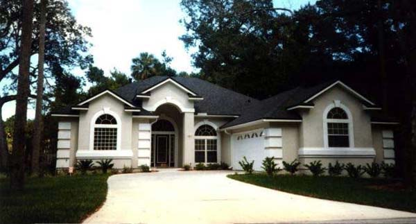 House Plan 53242 with 3 Beds, 2 Baths, 2 Car Garage Picture 3