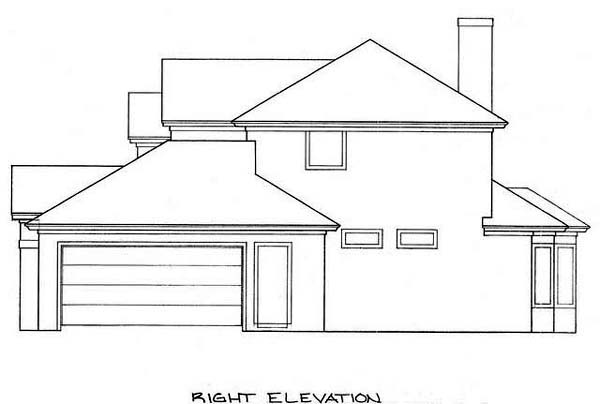 House Plan 53246 with 3 Beds, 3 Baths, 2 Car Garage Picture 2