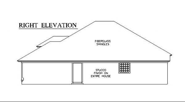 House Plan 53247 with 3 Beds, 2 Baths, 2 Car Garage Picture 2