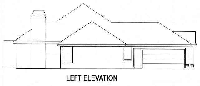 House Plan 53457 with 4 Beds, 4 Baths, 2 Car Garage Picture 1