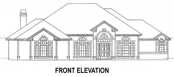 House Plan 53457 with 4 Beds, 4 Baths, 2 Car Garage Picture 3