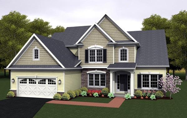 House Plan 54080