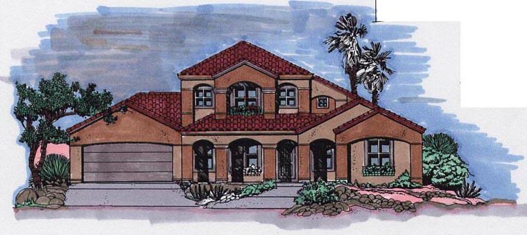 House Plan 54610
