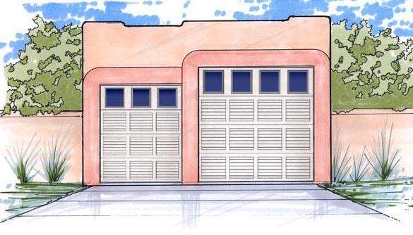 Garage Plan 54769