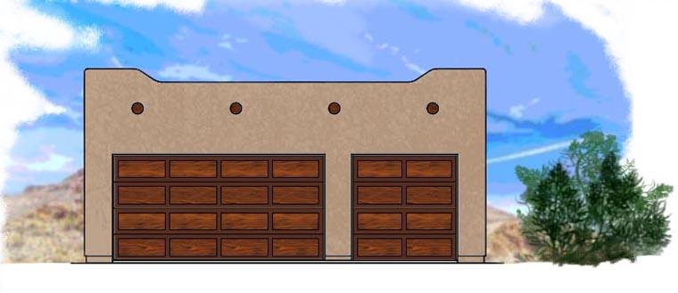 Garage Plan 54780