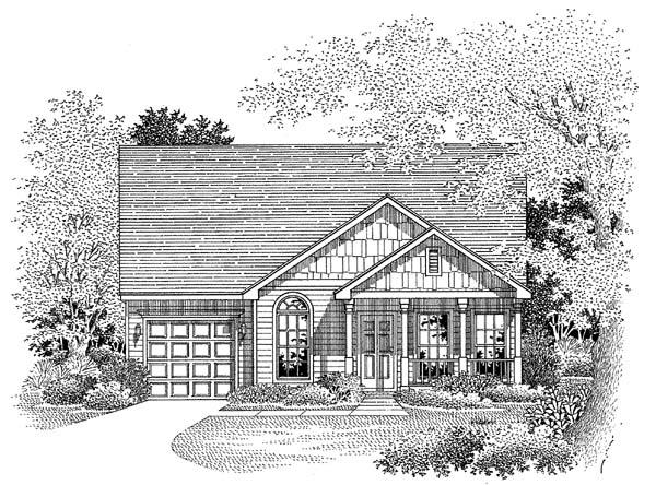 House Plan 54860