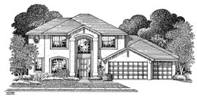 Plan Number 54908 - 3254 Square Feet